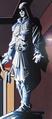 Ezio statue