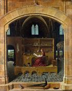St-Jerome in his study - By Antonello da Messina