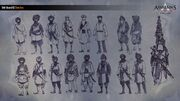 ACC India Sikh Empire Guard Concept Sketches