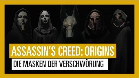 Assassin's Creed Origins Die Masken der Verschwörung