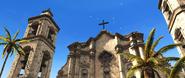 ACIV La Havane basilique contre plongée