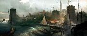 ACR Imperial District Port - Concept Art