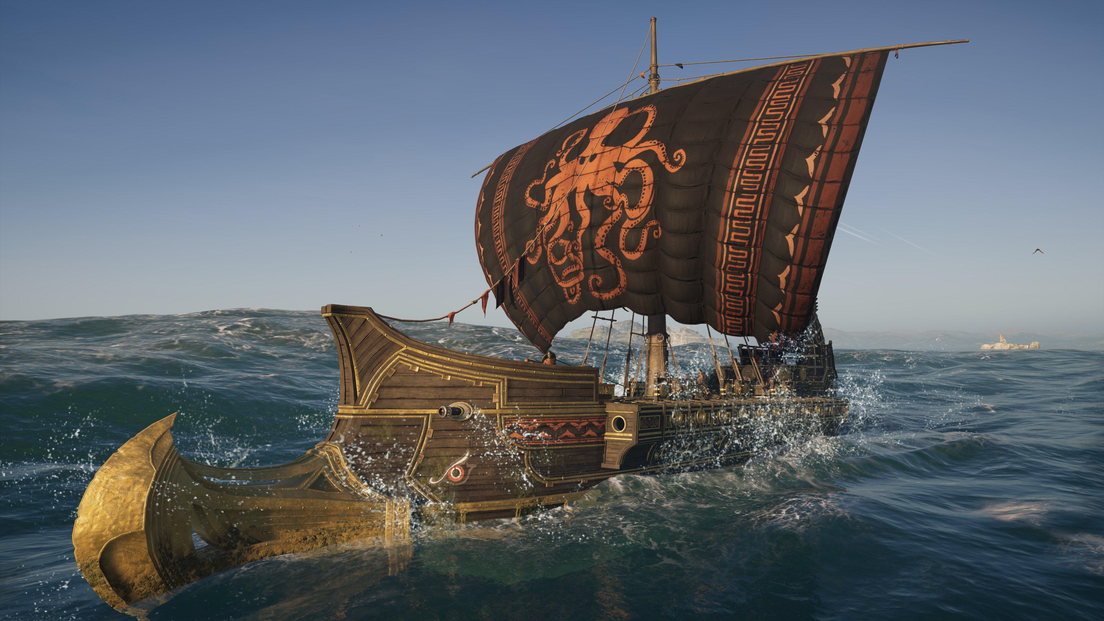 Aegean Pirate Ship Set