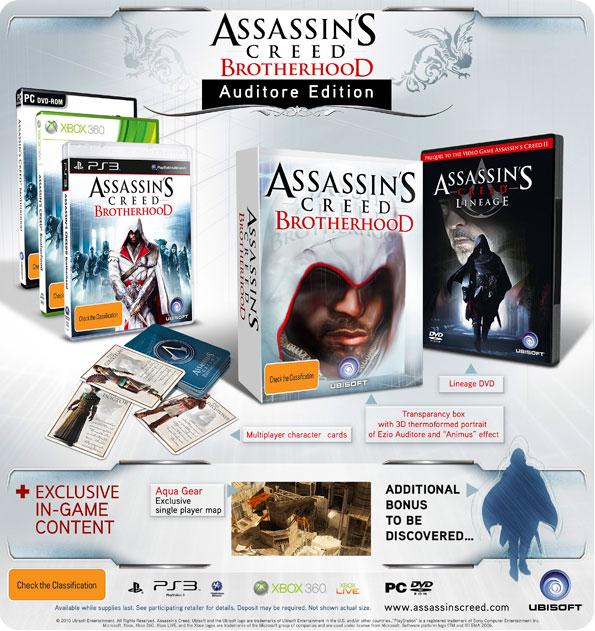 Andro69/Assassin's Creed: Brotherhood Auditore Edition