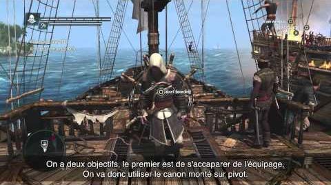 Assassin's Creed IV Black Flag - Vidéo de gameplay - Exploration Navale FR