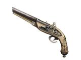 Golden Flintlock Pistols