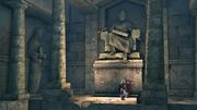 PTemple Entrance Ezio and Leonardo