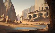 ACO Desert Ruin - Concept Art