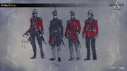 ACC India EIC Sergeant Concept Sketches