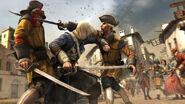Edward combat explorateurs espagnols