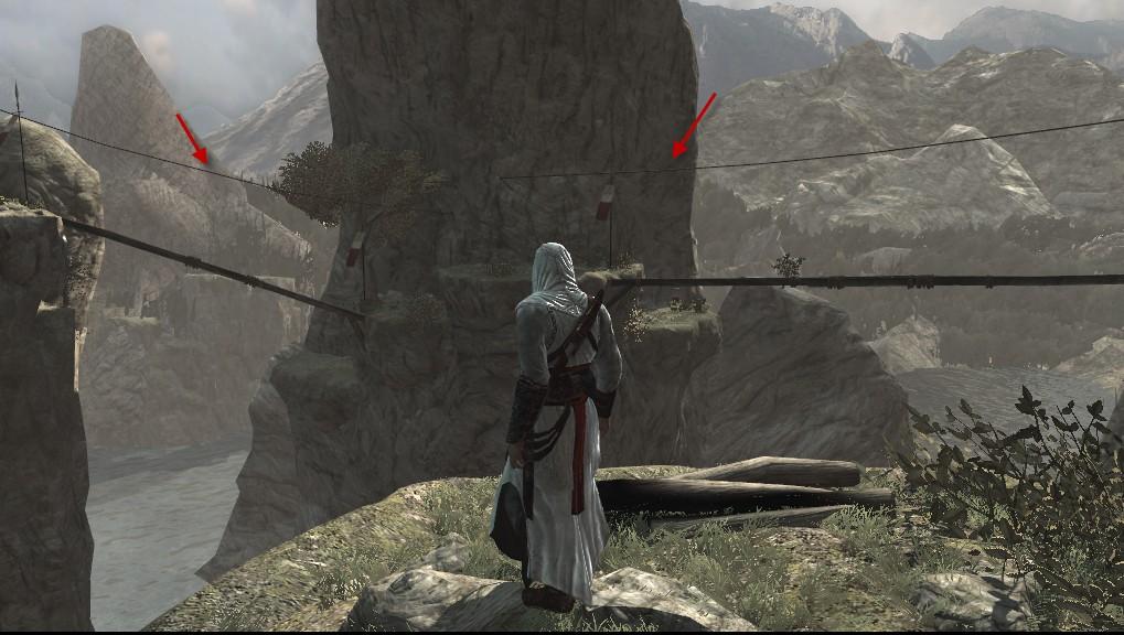 Assassin of persia/So those were left for Ezio