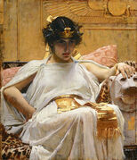 515px-Cleopatra - John William Waterhouse