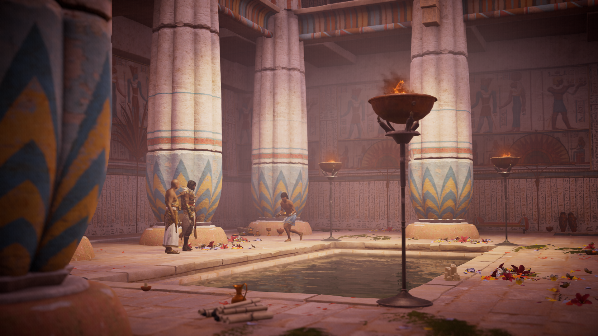 Embuscade au temple