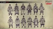 ACC China Qiu Ju Concept Sketches