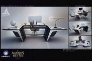 ACIV Abstergo Entertainment Bureau concept 2