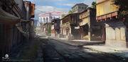 ACO Alexandria Street Concept Art 6 - Martin Deschambault