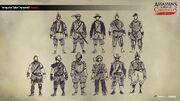 ACC China Portuguese Sailors Concept Sketches