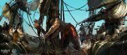 ACIV Pirates Navire concept