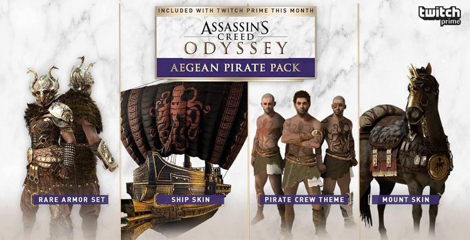 Aegean Pirate Pack