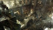ACUnity distretto Ventre de Paris concept art
