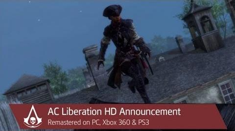 Assassin's Creed Liberation HD Announcement Trailer North America