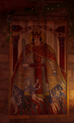 ACV Painting of Charles the Fat