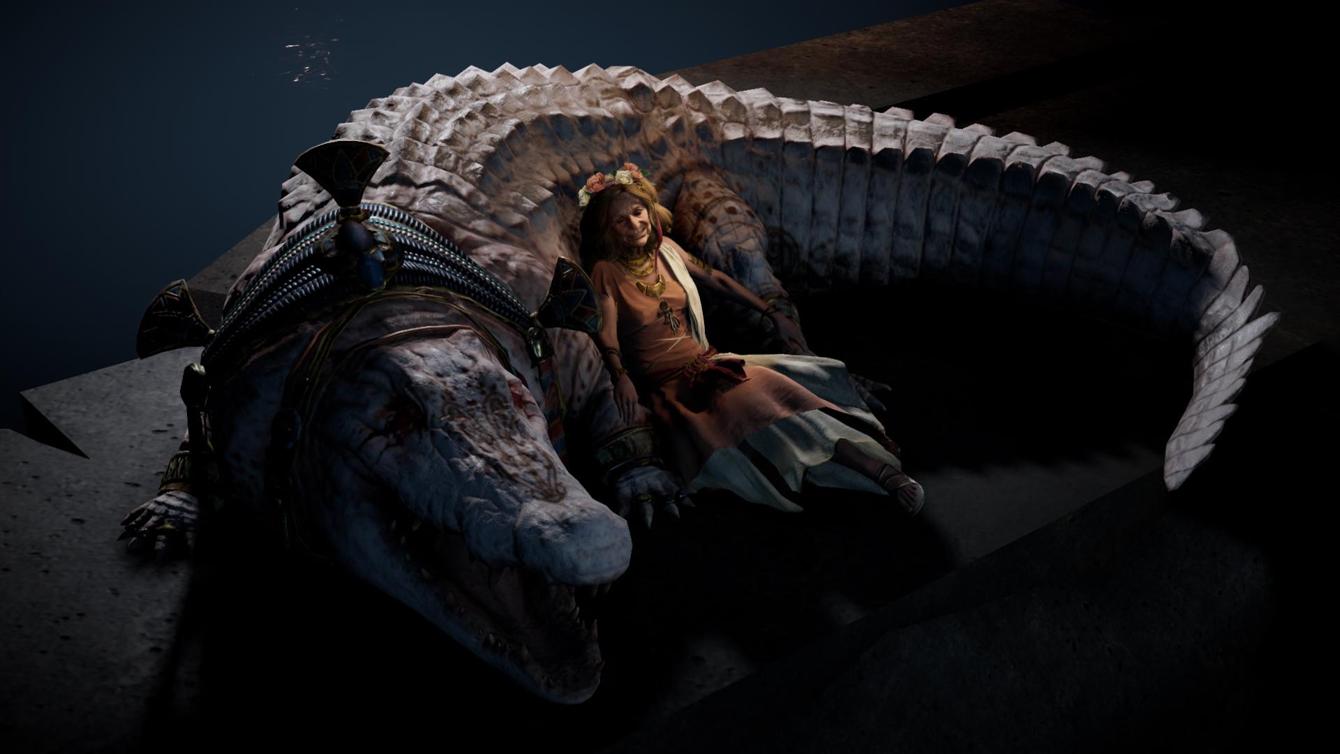 Les mâchoires du Crocodile