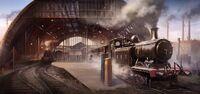 ACS King's Cross Train Station - Concept Art