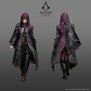 ACS Evie Frye Nightshade Cloak Outfit - Concept Art