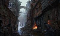 ACS London Slums - Concept Art