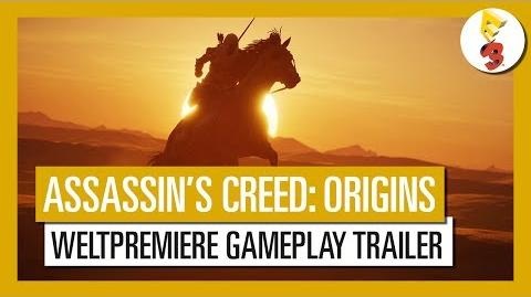 Assassin's Creed Origins E3 2017 Weltpremiere Gameplay Trailer