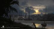 AC4BF Havana Dusk - Concept Art