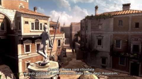 Assassin's Creed Brotherhood - Panoramica di Roma