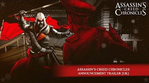Assassin's Creed Chronicles Announcement Trailer EUROPE