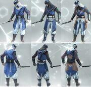Armors 1-3 Vizier