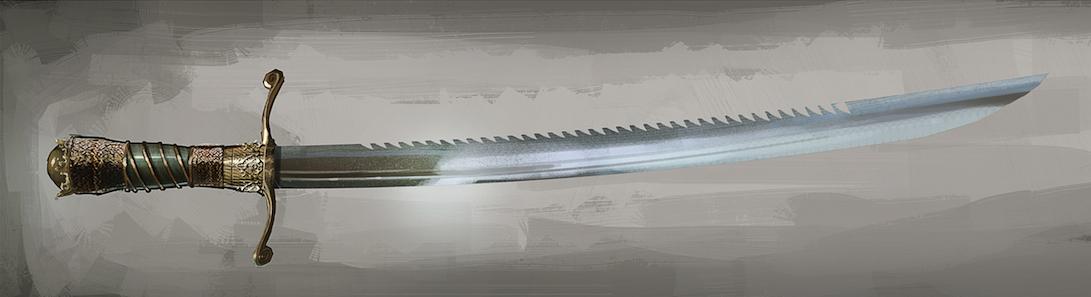 基德船长的锯齿短剑