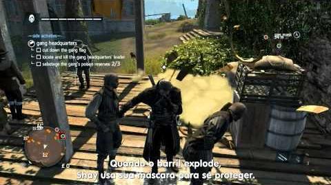 Assassin's Creed Rogue - Gameplay de Exploração Legendado