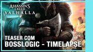 Assassin's Creed Valhalla Teaser Oficial com BossLogic - Timelapse