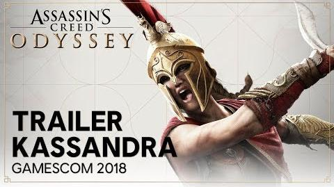 Assassin's Creed Odyssey - Kassandra - Gamescom 2018