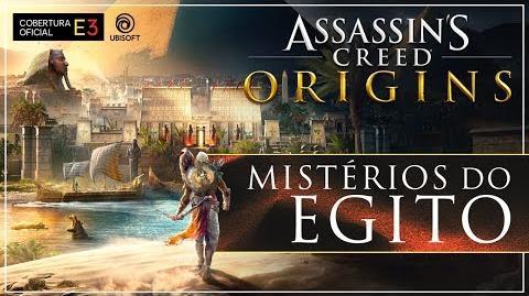 Assassin's Creed Origins E3 2017 Mistérios do Egito