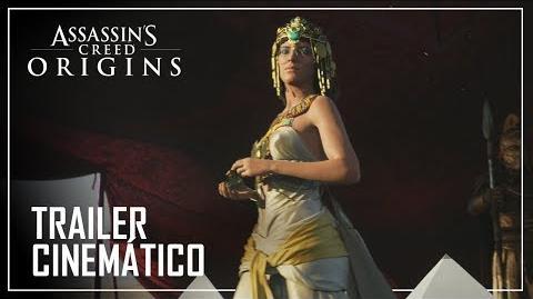 Assassin's Creed Origins Trailer Cinemático - Gamescom