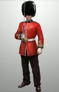 ACS Guarda Real Britânico - Arte de Conceito