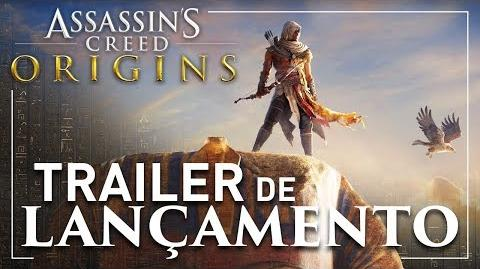 Assassin's Creed Origins Trailer de Lançamento