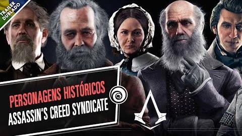 Personagens Históricos de Assassin's Creed Syndicate - DUBLADO
