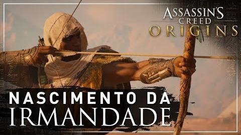 Assassin's Creed Origins Nascimento da Irmandade