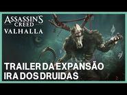 Assassin's Creed Valhalla- Trailer de expansão - Ira dos Druidas - Ubisoft