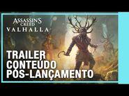 Assassin's Creed Valhalla - Trailer de Pós-Lançamento e Passe de Temporada