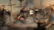 Assassins Creed Rogue TemplárioVSCapitãoAssassino