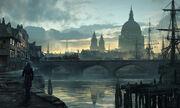 ACS Cidade de Londres - Arte de Conceito