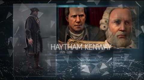 Inspiração de Berg - Haytham Kenway